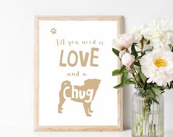 A4 Unframed Chug Wall Print
