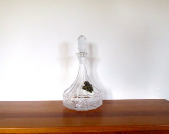 Versailles Lead Crystal West Germany Decanter