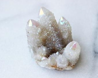 Angel Aura Spirit Quartz Crystal | #5