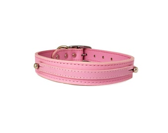 "26"" Simple and Elegant Leather Pet Collar"