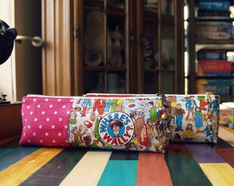 Pencil Pouch - Where's Wally