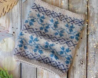 Twining Vines Cowl Knitting Kit 12 Days of Winter