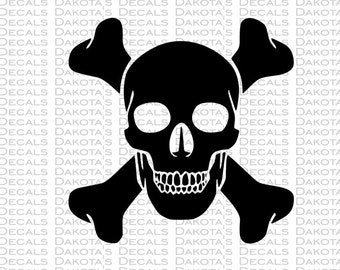Skull and Crossbones SVG for Download
