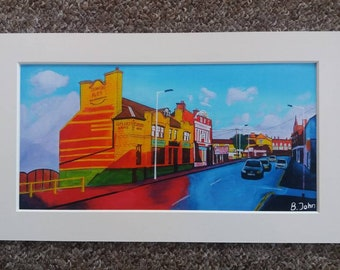 Limited edition - Cutlers Arms, Rotherham - from an original painting by Bryan John