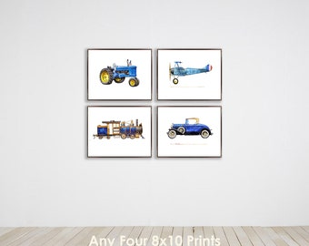 Collection of Four 8x10 prints of your choice