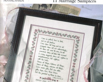 Praying Hands Cross Stitch Book ~  United in God's Love  ~