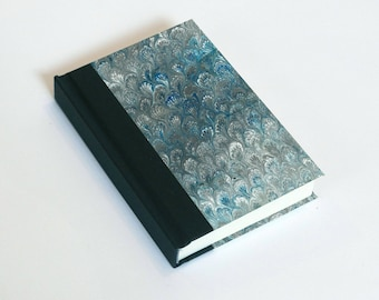 "Sketchbook 4x6"" with motifs of marbled papers - 14"
