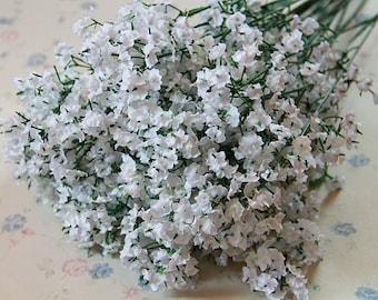 20 Bouquet Silk Baby's Breath Artificial Wedding Flowers Decor Silk Baby's Breath Flowers