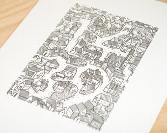Gutenberg's home | letterpress print