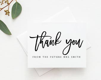 shower thank you notes