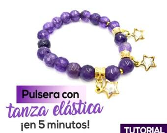 Pulsera con Tanza Elastica Ebook PDF con Video Tutorial