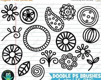 75% OFF SALE Doodle Photoshop Brushes, Photoshop Brushes, Digital Photoshop Brushes - UZPSB858