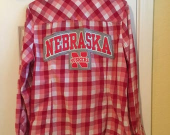 Flirty Nebraska Flannel