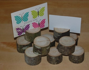 Wooden Wedding Table Place Name/Photo Holder/Shop/Stall display Etc X 100