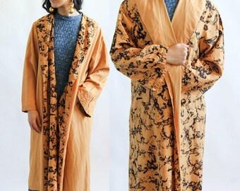 two faced -- vintage 1960s super lux reversible jacket -- M/L