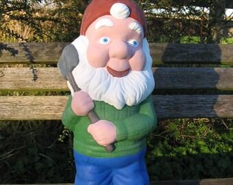 Large Garden Gnome garden ornament - 10kgs