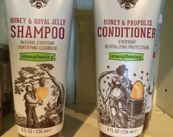 Savannah Bee Strengthening Shampoo and Conditioner