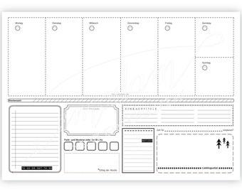 Desk pad, 21 x 29,7 cm