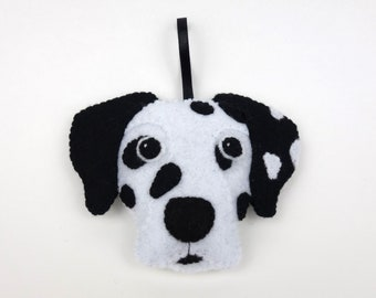 Felt Dog Ornament - Dalmation