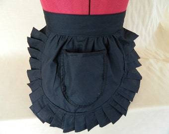 Retro Vintage Style Waitress / Maid Apron / Pinny - Various Colours to choose from