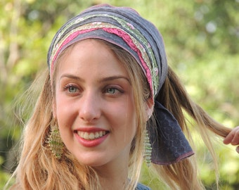 My Favorite & Beloved Headband tichel  ,Snood, Head Scarf,Head Covering,jewish headcovering,Scarf,Bandana,apron