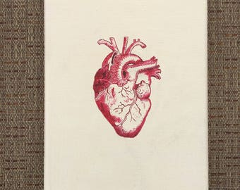 Anatomically Correct Heart Painting