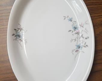 "Royal Heiden Society China Czech - Fantasy - Serving Platter Oval Tray 9"" x 13"""
