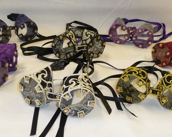 Embroidered Lace Goggles - Perfect For Steampunk Ladies