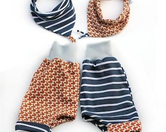 Baby reversible pants