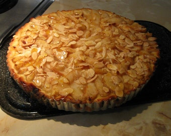 RECIPES PDF  Pear Almond  Tart / Dough and Pastry Cream / FANTASTIC