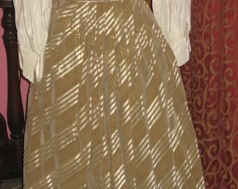 """1950's, 26"""" waist, brushed  felt like skirt"""