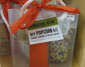 DIY Gourmet Popcorn Kit - Herbaceous Blend Mix