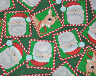 New!  Rudolph the Red Nose Reindeer 100% Cotton Quilt