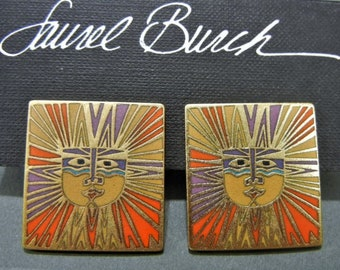 Laurel Burch sun goddess, Laurel Burch earrings, sun jewelry, sunface jewelry, Laurel Burch jewelry, Laurel Burch, celestial jewelry