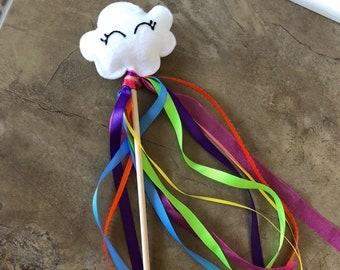 Fairy Wand | Princess Wand | Rainbow | Cloud |