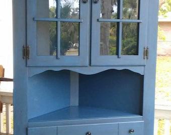 Corner Cabinet | Etsy