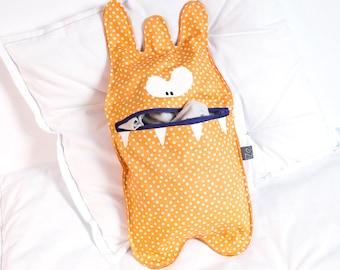 Pajama bag Monster Crest Orange