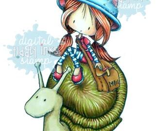 Snail Mail |Digital Stamp