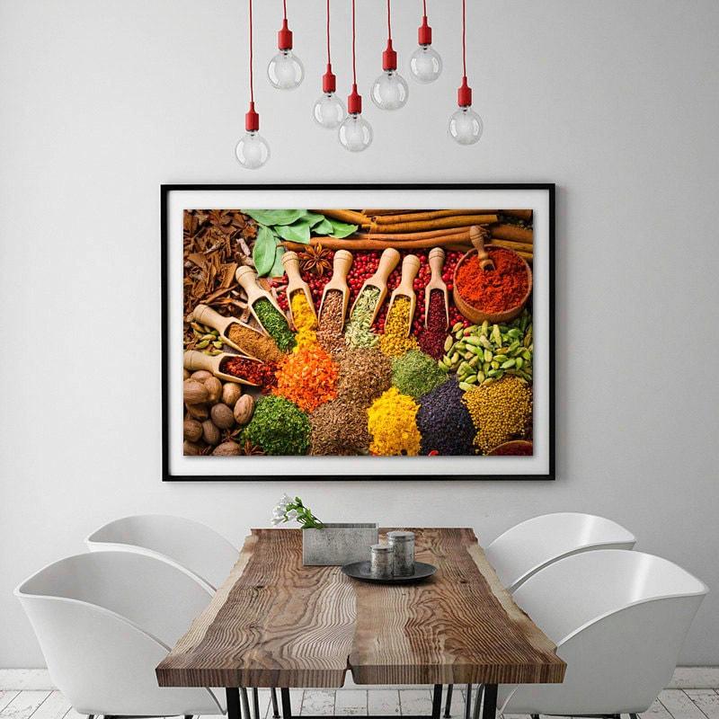 Photographie Alimentaire Art Mural Cuisine Impressions De