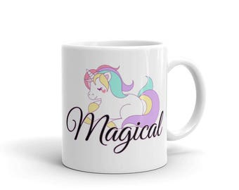 Magical Unicorn Mug DDLG, ABDL, Little, Adult Baby, Kawaii