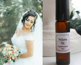 Bridal Bouquet Natural Perfume, Roll On Fragrance, Floral Scented Perfume Oil, Bridesmaid Gift Idea, Brides Bouquet, Flower Fragrance