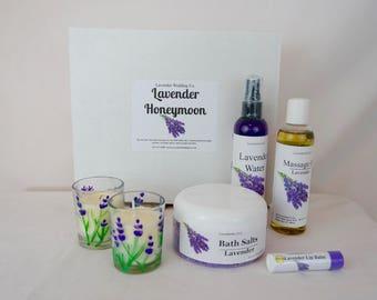 Lavender Honeymoon Gift Box - Romantic