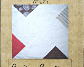 Pinwheel X Paper Pieced Quilt Block Pattern by Curlicue Creations, Quilting Pattern Pinwheel Quilt Pattern