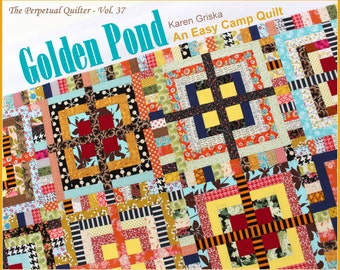 Line Art Quilt Pattern : Scrappy arkansas cross roads quilt squares and triangles