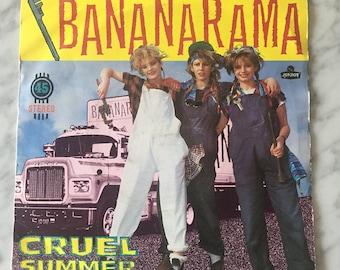 7 inch Bananarama Cruel Summer Vinyl Record Rare Vintage Retro 1980s Nana5