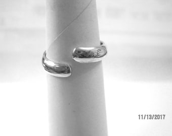 Sterling silver thumb ring-simple and elegant-last one.