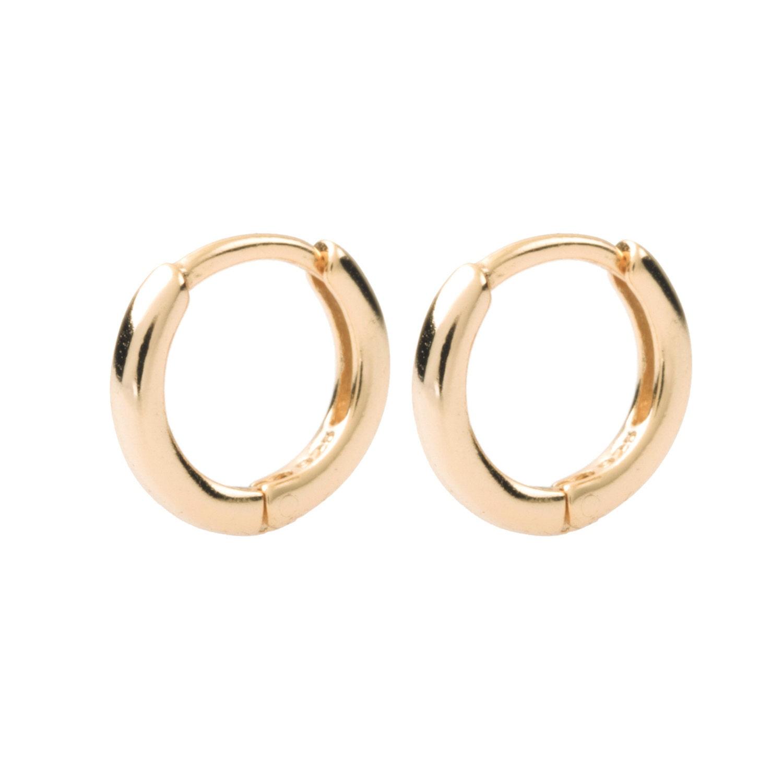Small Hoop Earrings Tiny Gold Hoops Dainty Earrings