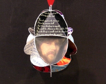 The Eagles Band Album Cover Ornament Made Of Record Jackets