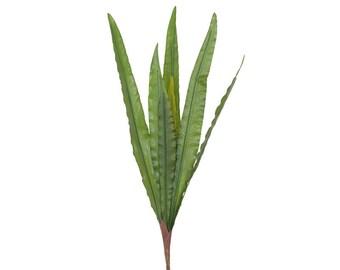 Artificial Green Leaf Foliage H 50 cm