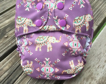 Trippy Trunks AIO Cloth Diaper - One Size, All in One - FREE SHIPPING!